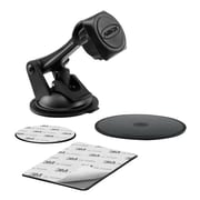 Arkon® Sticky Suction Phone Car Mount for Smartphones, MAG179, Magnetic, Black