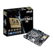 ASUS Socket 1151 Micro ATX Desktop Motherboard, Intel H110 Chipset (H110M-E/M.2)