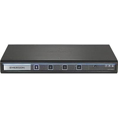 Avocent® Cybex™ SC845D-001 4 Port Secure Desktop KVM Switch