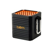 Bem™ EXO200 Portable Bluetooth Speaker Cube, Black