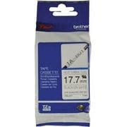 Brother Heat Shrink Tubing Label for PT-H300/PT-E300 Label Printer, Black/White (HSE241)