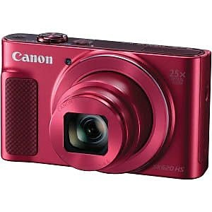 Canon® PowerShot SX620 HS 20.2MP Compact Camera, 25x, 4.50 mm -112.50 mm, Red