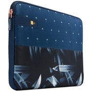 Case Logic® Hayes Blue Polyester Laptop Sleeve Case (HAYS113DARKPALM)