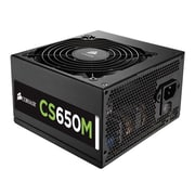 Corsair® CS Series Semi Modular Power Supply, 650 W (CS650M)