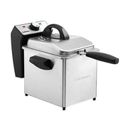 Cuisinart® Compact Stainless Steel 2 qt Deep Fryer, Silver/Black (CDF-130)