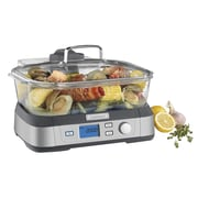 Cuisinart® CookFresh Digital Glass Steamer, Stainless Steel (STM-1000)