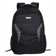 Eco Style Tech Edge Black Polyester Notebook Backpack (ETEG-BP16)