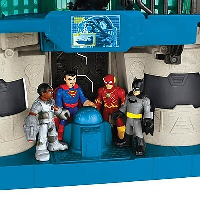Fisher-Price Imaginext DC Super Friends Hall of Justice Playset (CHH94) IM14T7412