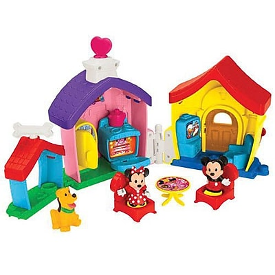 Fisher-Price Little People Magic of Disney Mickey and Minnie's House Playset (CHX04) IM14T7409