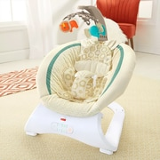 Fisher-Price® Infant Deluxe Bouncer, Soothing Savanna (CLH37)