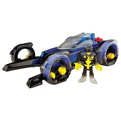 Fisher-Price Imaginext DC Super Friends Transforming Batmobile Playset (CLP22) IM14T7411