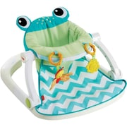 Fisher-Price® Infant Sit Me Up Floor Seat, Citrus Frog (CMH49)