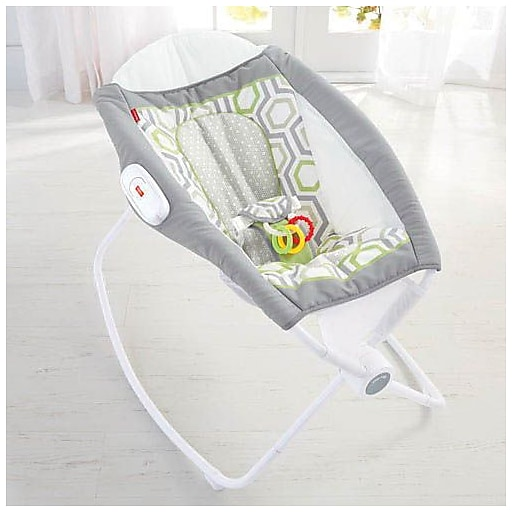 Fisher Price Newborn Auto Rock N Play Sleeper Geo Meadow Cmp97
