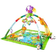 Fisher-Price® Infant Music and Lights Deluxe Gym, Rainforest (DFP08)
