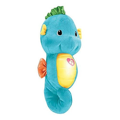 Fisher-Price® Soothe & Glow Seahorse Toy, Blue, Birth and Up (DGH78)