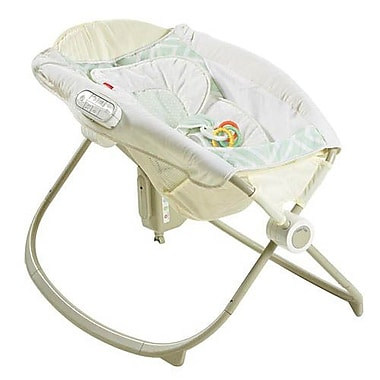 Fisher-Price® Smart Connect™ Newborn Auto Rock N Play Sleeper, Geometric (DNK64)