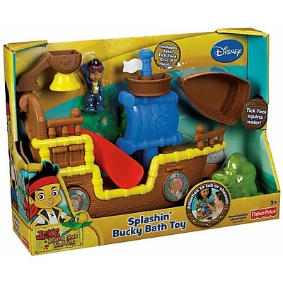 Fisher-Price Jake and The Never Land Pirates: Splashin' Bucky Bath Toy (X4987) IM14T7448