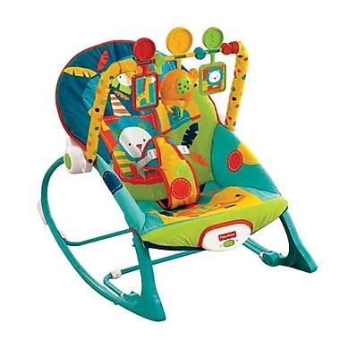 Fisher-Price® Infant to Toddler Rocker Sleeper, Safari (X7046)