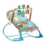 Fisher-Price® Infant to Toddler Rocker Sleeper, Jungle Fun (Y7872)