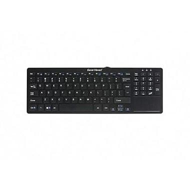 Gear Head™ USB Wired Mini Smart Touchpad Keyboard, Black (KB3900TP)