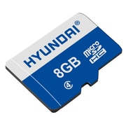 Hyundai® Class 4 microSDHC Memory Card with SD Adapter, 8GB (MHYMSDC8GC4)