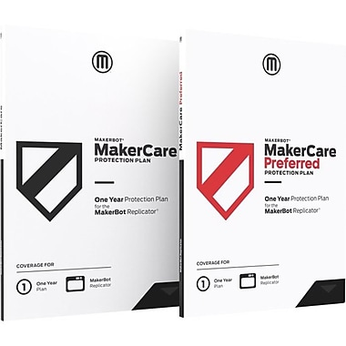 Makerbot MP07018 MakerCare 3 Year Preferred Protection Plan for Fifth Generation Replicator 3D Printer