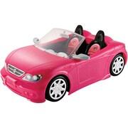Mattel® Barbie Glam Convertible Dream Car Toy, Pink (DGW23)