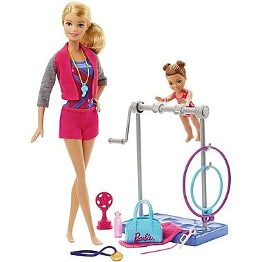 Mattel® Barbie Gymnastic Coach Dolls and Playset (DKJ21)