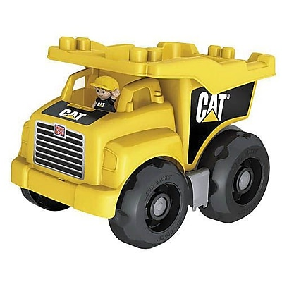 Mega Bloks® First Builders CAT Dump Truck Toy (DCJ86)
