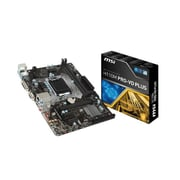msi Socket H4 LGA-1151 Micro ATX Desktop Motherboard, Intel H110 Chipset (H110M PRO-VD PLUS)