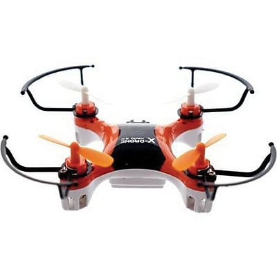 MYEPADS X-Drone Nano 2.0 Aerial R/C Drone Quadcopter Toy, Orange, 12 Years and Up