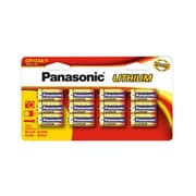 Panasonic® CR123A Lithium Manganese Dioxide General Purpose Battery, 12/Pack (CR123PA)