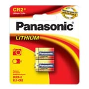 Panasonic® Photo Lithium Battery ,3 V, 2/Pack (CR-2PA)