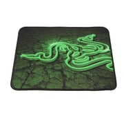 """Razer® Goliathus Control Fissure Cloth 8.46""""H x 10.73""""W Heavily Textured Weave Green Mouse Pad, RZ02-01070500-R3M2"""