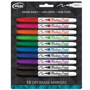 The Board Dudes® Medium Point Dry Erase Marker, 10/Pack (DDC99)