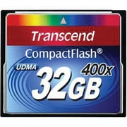 Transcend® TS32GCF400 400X 32GB Compact Flash Memory Card