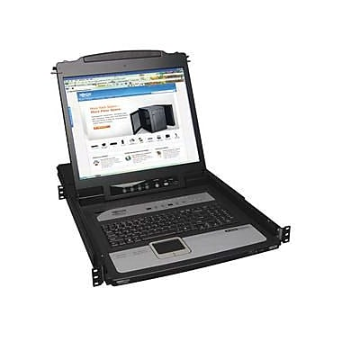 Tripp Lite® NetDirector B020-U08-19-IP 8 Port 1U Rack Mount Console KVM Switch