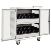 Tripp Lite® White Steel 32-Device AC Charging Station Cart (CSC32ACW)