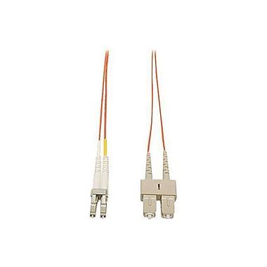 TrippLite®N31616'Multi-ModeFiberDuplexLCtoSCMale/MalePatchCable,Orange