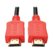 Tripp Lite® P568 6' HDMI Male/Male High Speed Cable, Red