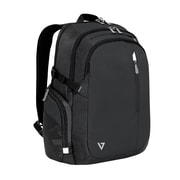 V7® Classic Elite Black Polyester Laptop and Tablet Backpack (CCBPX1-9N)