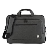 V7® Slim Gray Nylon Laptop Carrying Case (CTPX6-1N)