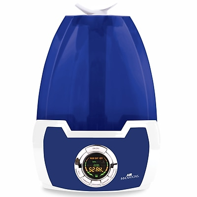 Air Innovations Clean Mist Smart 1.63gal Ultrasonic Digital Humidifier 1 (MH-602 Blue)