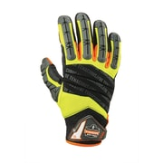 Proflex 924 Hybrid Dorsal Impact-Reducing Gloves, Lime, XL (17685)