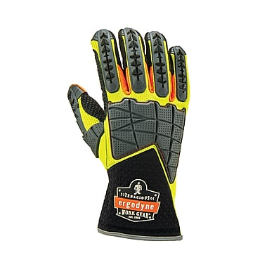 Proflex 925F(x) Standard Dorsal Impact-Reducing Gloves, Lime, S (17902)