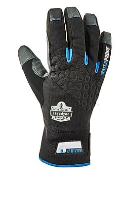 Proflex 817WP Reinforced Thermal Waterproof Utility Gloves, Black, XL (17375) 2455986