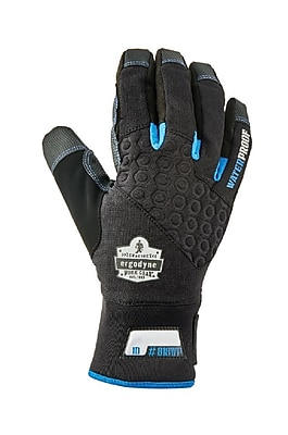 Proflex 818WP Performance Thermal Waterproof Utility Gloves, Black, S (17382)