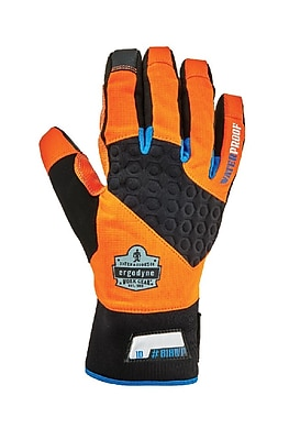Proflex 818WP Performance Thermal Waterproof Utility Gloves, Orange, S (17392) 2455978