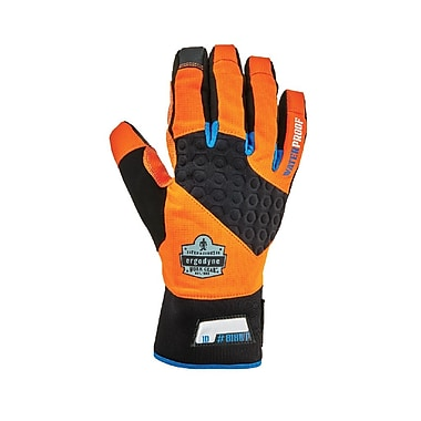 Proflex 818WP Performance Thermal Waterproof Utility Gloves, Orange, M (17393)