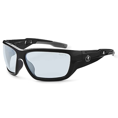 Skullerz BALDR-AF Safety Glasses, Anti-Fog In/Outdoor Lens, Black (57083)